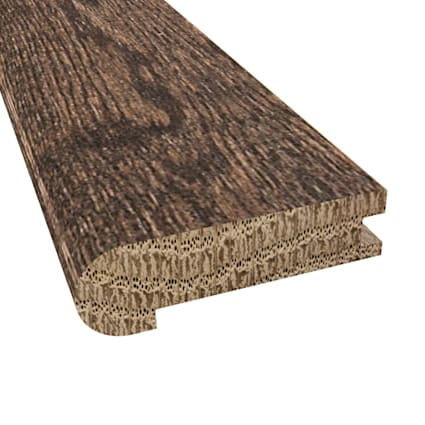 Prefinished Distressed Coggeshall Oak Hardwood 3/4 in thick x 3.125 in wide x 78 in Length Stair Nos