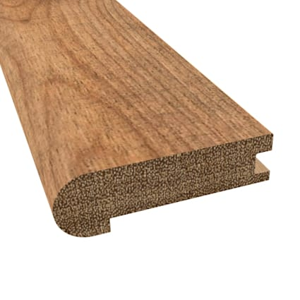 Prefinished Distressed Hannah Point Hardwood 3/4 in thick x 3.125 in wide x 78 in Length Stair Nose