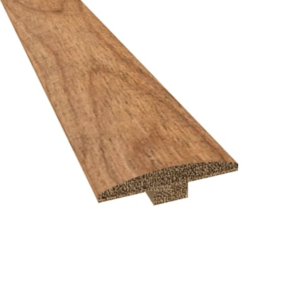 Prefinished Distressed Hannah Point Hardwood 1/4 in thick x 2 in wide x 78 in Length T-Molding