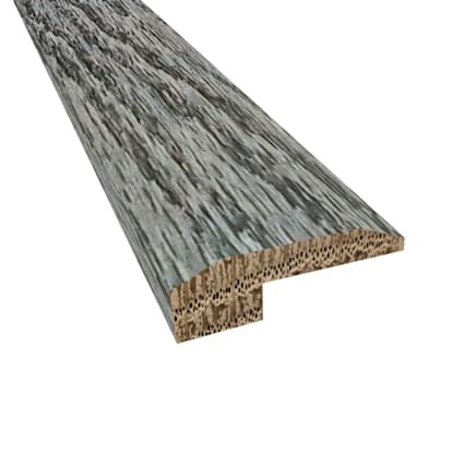 Prefinished Slate Oak Hardwood 5/8 in thick x 2 in wide x 78 in Length Threshold