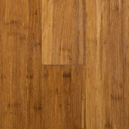Strand Carbonized Wide Plank Solid Bamboo Flooring