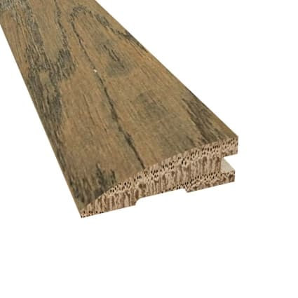 Prefinished Distressed Greenwich Oak Hardwood 3/4 in thick x 2.25 in wide x 78 in Length Reducer