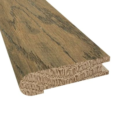 Prefinished Distressed Greenwich Oak Hardwood 3/4 in thick x 3.125 in wide x 78 in Length Stair Nose
