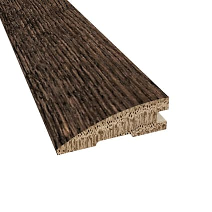 Prefinished Distressed Exeter Oak Hardwood 3/4 in thick x 2.25 in wide x 78 Length Reducer