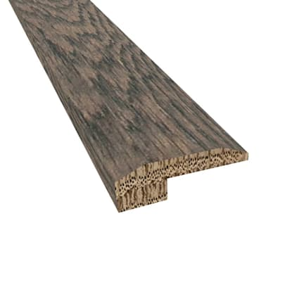 Prefinished Distressed Colchester Oak Hardwood 5/8 in thick x 2 in wide x 78 in Length Threshold