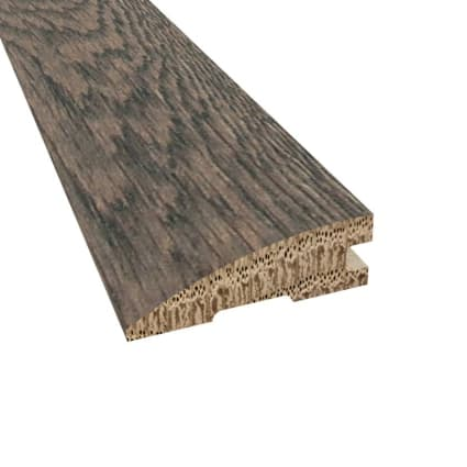 Prefinished Distressed Colchester Oak Hardwood 3/4 in thick x 2.25 in wide x 78 in Length Reducer