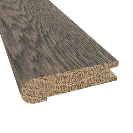 Prefinished Distressed Colchester Oak Hardwood 3/4 in thick x 3.125 in wide x 78 in Length Stair Nos