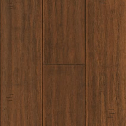 Bismark Strand Distressed Wide Plank Engineered Click Bamboo Flooring