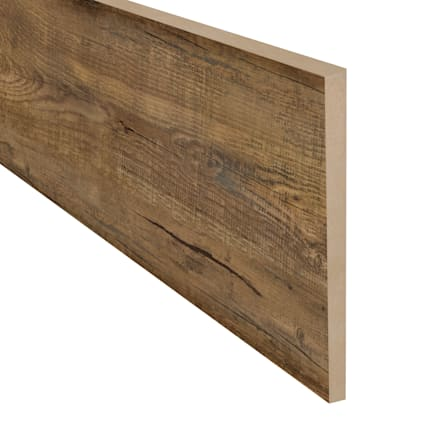 Rustic Reclaimed Oak 47 in Length Retro Fit Riser