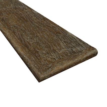 Copper Barrel Oak Water Resistant 47 in Length Retro Fit Left Hand Tread