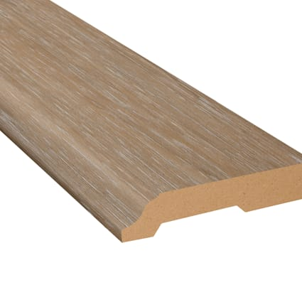 Saint Florent Hickory Vinyl 3.25 in wide x 7.5 ft Length Baseboard