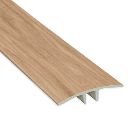 Meribel Elm Vinyl Waterproof 1.75 in wide x 7.5 ft Length T-Molding