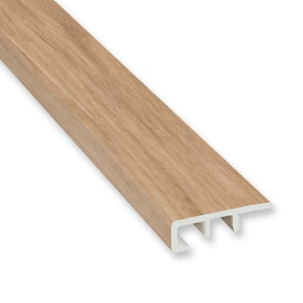 Meribel Elm Vinyl Waterproof 1.5 in wide x 7.5 ft Length End Cap