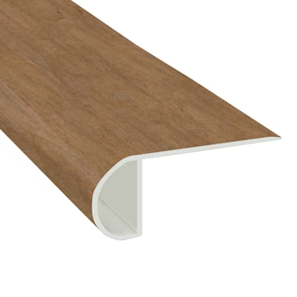 Cannes Maple Vinyl Waterproof 2.25 in wide x 7.5 ft Length Low Profile Stair Nose