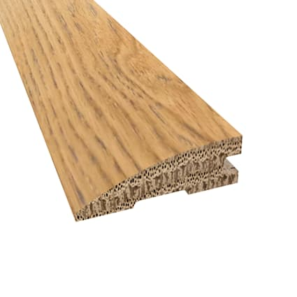 Prefinished Distressed Cheshire Oak Hardwood 3/4 in thick x 2.25 in wide x 78 in Length Reducer