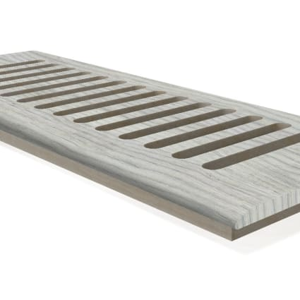 "DH Frosted Pine 4x10"" DI Grill"