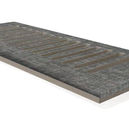 """CLX Soho Gray Linen 4x12"""" DI Grill"""