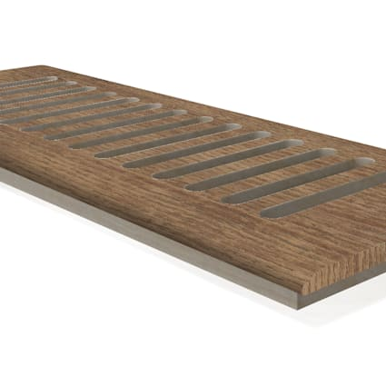 "CLX Loire Valley Oak 4x12"" DI Grill"