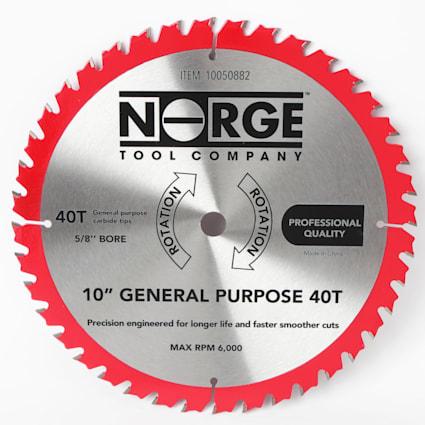 "Saw Blade - 10"" General Purpose 40T"