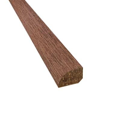 Esperanza Brazilian Oak Hardwood 1/2 x 3/4 x 78 Shoe Molding