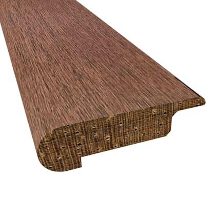 Esperanza Brazilian Oak Hardwood 3/8x2-3/4x 78 Overlap Stair Nose