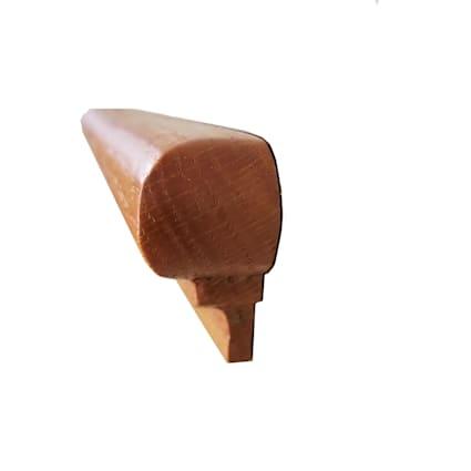 Butterscotch Oak 1x 1-7/8x 14-3/4 in Retrofit Return