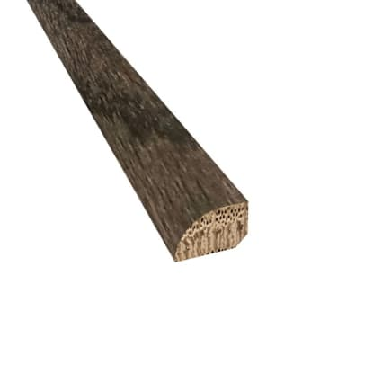 Onyx Oak Hardwood 1/2 x 3/4 x 78 Shoe Molding