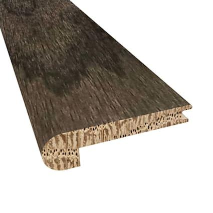 Onyx Oak Hardwood 3/8 x 2 3/4 x 78 Stair Nose