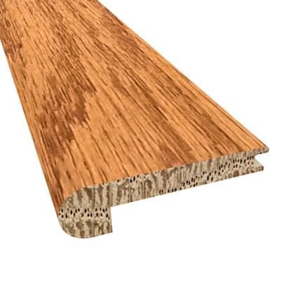 Butterscotch Oak Hardwood 3/8 x 2-3/4 x 78 Stair Nose