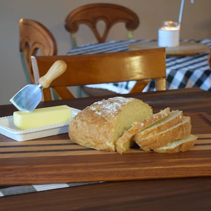 Abbottstown 1 in x 15 in x 20 in Butcher Block Cutting Board