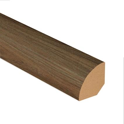 Highlands Walnut Vinyl Plank 7.5 ft Quarter Round