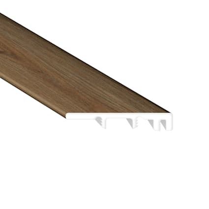 Highlands Walnut Waterproof Vinyl Plank End Cap
