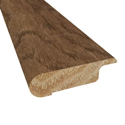 """3/8"""" x 2-3/4"""" x 78"""" Prefinished Cassidy Hickory 3/8 x2-3/4x78 Overlap Stairnose"""