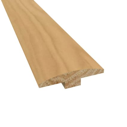 Prefinished Kennecott Hickory 1/4 in thick x 2 in wide x 78 in length T-Molding