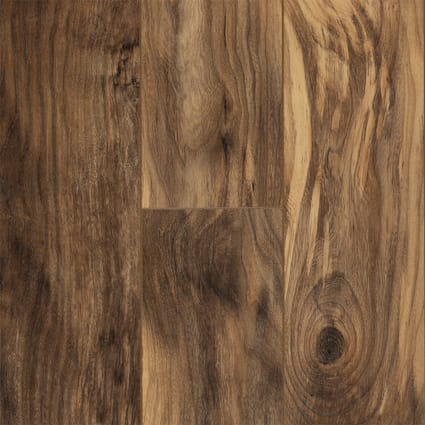 12mm w/pad Natural Hackberry 24 Hour Water-Resistant Laminate Flooring 6.06 in Wide x 51 in. Long