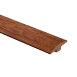 null - Prefinished Summer Harvest Hardwood 1/4 in thick x 2 in wide x 6.5 ft Length T-Molding