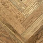 Bellawood - 3/4 in. x 5 in. Westerly Oak Distressed Herringbone Solid Hardwood Flooring