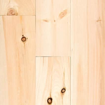 3/4 in. New England White Pine Unfinished Solid Hardwood Flooring 5.125 in Wide
