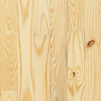 3/4 in. Southern Yellow Pine Unfinished Solid Hardwood Flooring 3.125 in. Wide