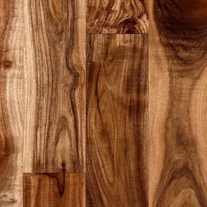 3/4 in. Tobacco Road Acacia Solid Hardwood Flooring 3.625 in. Wide