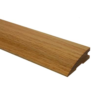 Prefinished Red Oak Hardwood 3/4 in thick x 2.25 in wide x 6.5 ft Length Reducer