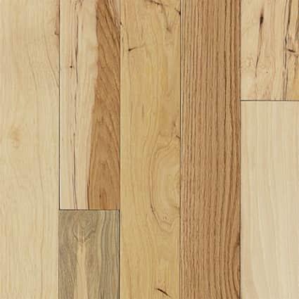 3/4 in. Millrun Hickory Solid Hardwood Flooring 3.25 in. Wide