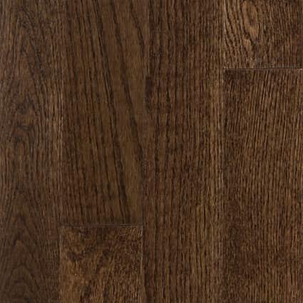 3/4 in. Mocha Oak Solid Hardwood Flooring 3.25 in. Wide