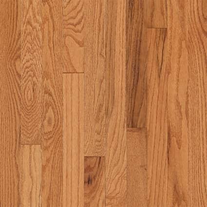 3/4 in. Butterscotch Oak Solid Hardwood Flooring 2.25 in. Wide