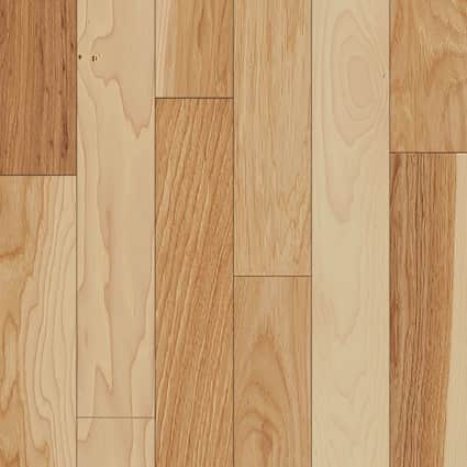 3/4 in. Natural Hickory Solid Hardwood Flooring 3 in. Wide