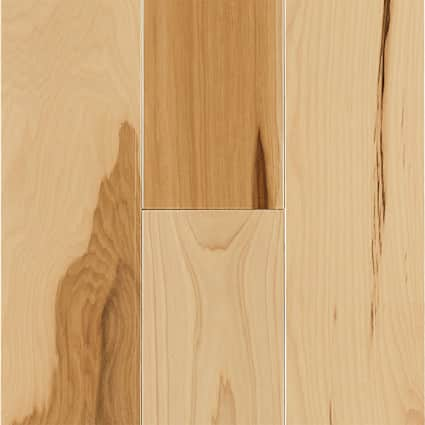 3/4 in. Natural Hickory Solid Hardwood Flooring 4 in. Wide
