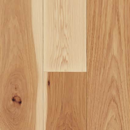 3/4 in. Natural Hickory Solid Hardwood Flooring 5 in. Wide