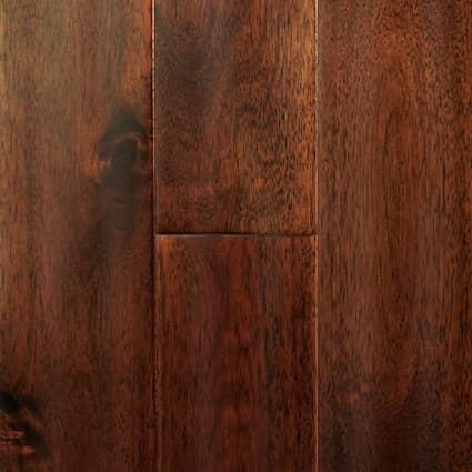 3/4 in. Hazelnut Acacia Distressed Solid Hardwood Flooring 3.5 in. Wide