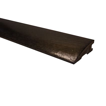 Prefinished Espresso Oak Hardwood 3/4 in thick x 2.25 in wide x 78 in Length Reducer