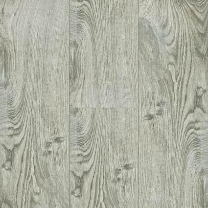 6 in. x 36 in. Oceanside Oak Gray HD Porcelain Tile